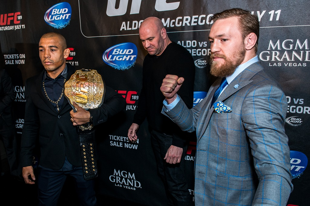 Jose Aldo vs Conor McGregor UFC 189