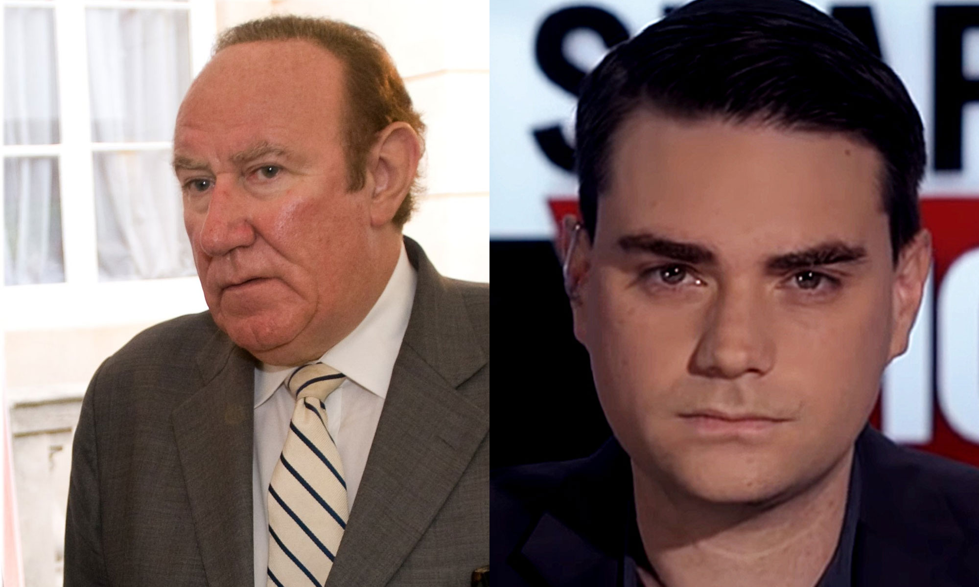 Ben Shapiro and Andrew Neil