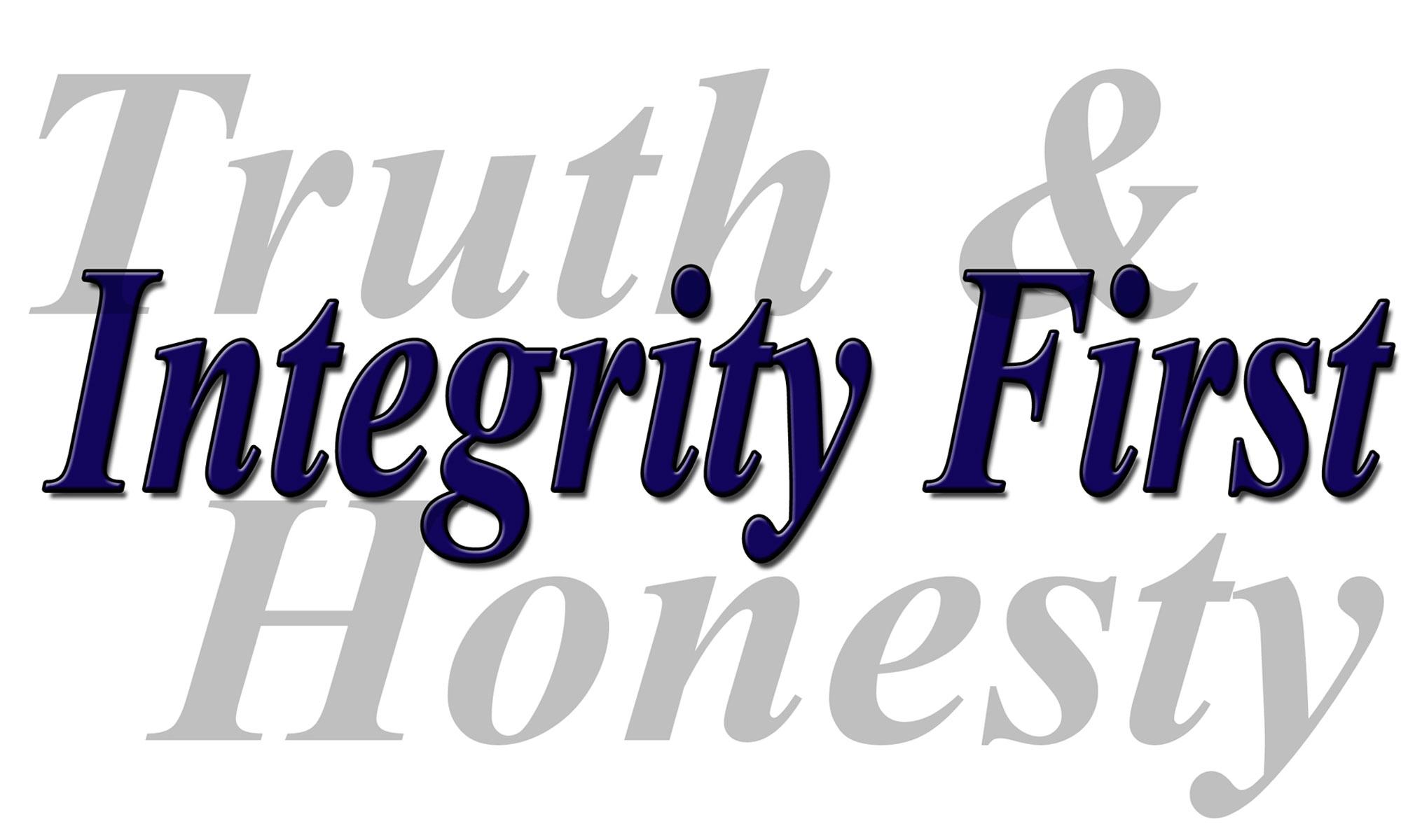 Truth Integrity Honesty
