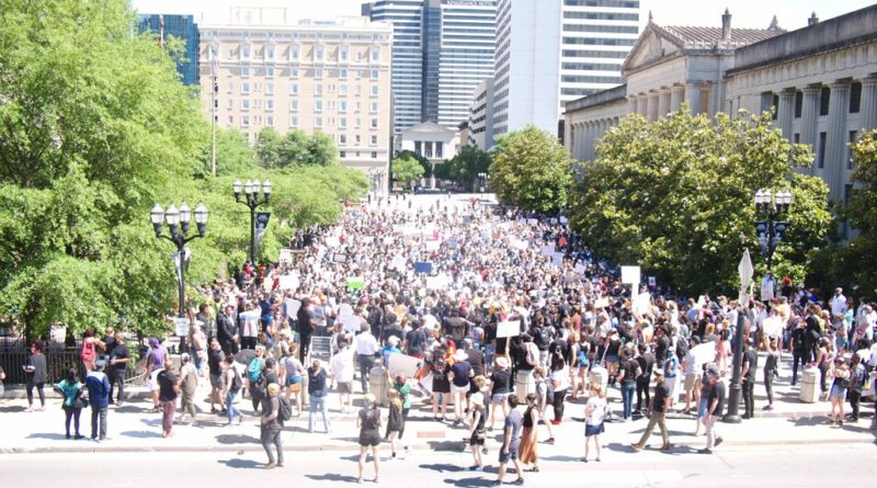#ICantBreathe Nashville George Floyd Rally