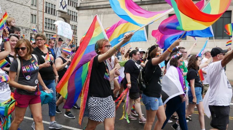 Pride Parade Flags