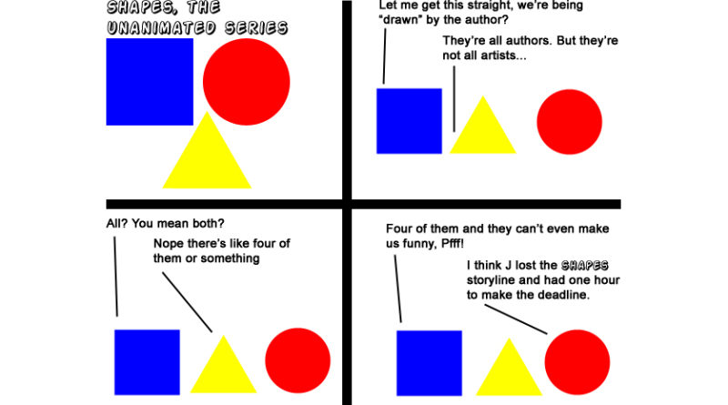 Shapes The Unanimated Series first comic