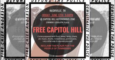 Free Capitol Hill #FreeCapitolHillTN