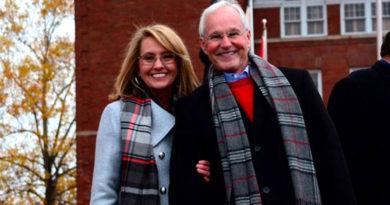 Ron Travis and Laura Travis