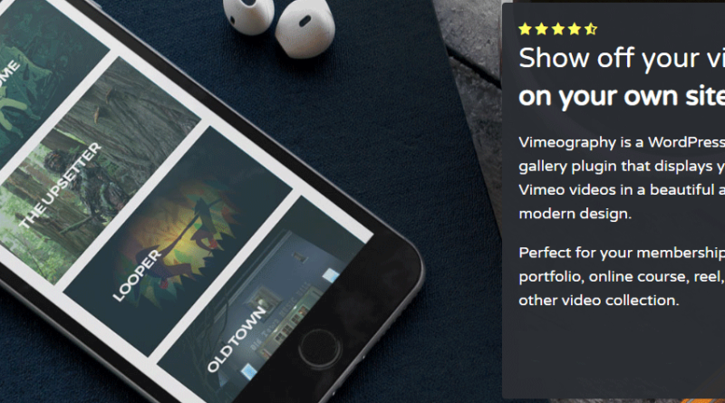 Video Gallery Plugin for Wordpress