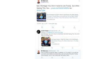 Jarrett Harper Blocked on Twitter for First Time